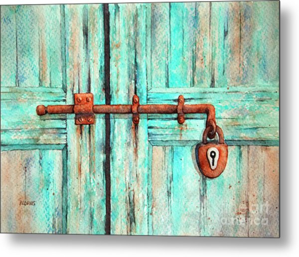 Lock And Key Metal Print