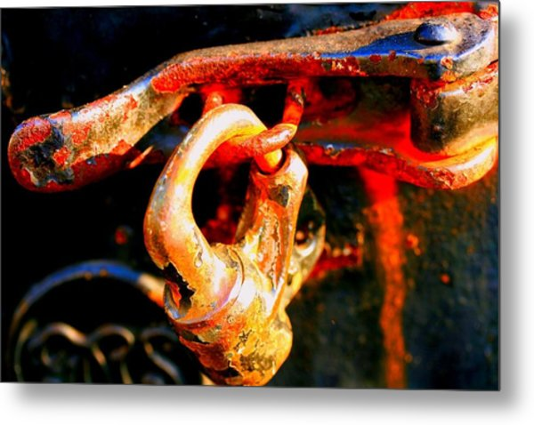 Locked Up Metal Print by Susan Moore