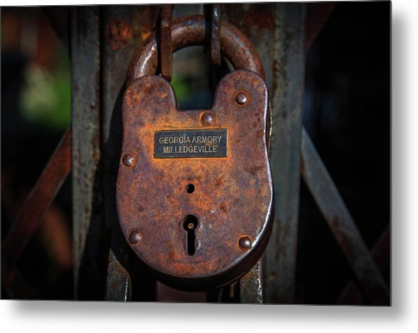 Metal Print featuring the photograph Locked Up Tight by Doug Camara