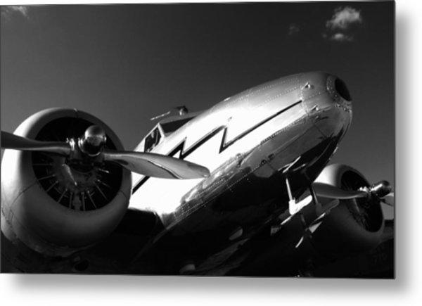 Lockheed 12a Electra Junior 1936 - I Metal Print by Maxwell Amaro