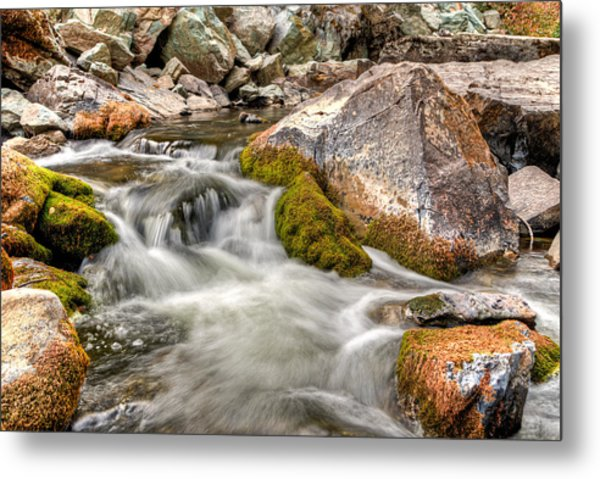 Logan Creek, Montana 2 Metal Print