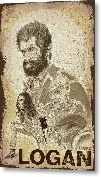 Logan Metal Print by Joseph Burke