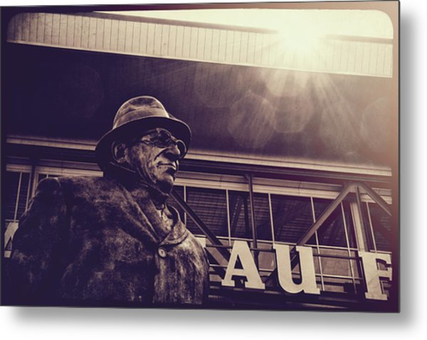 Lombardi - Shadow Of Greatness Metal Print