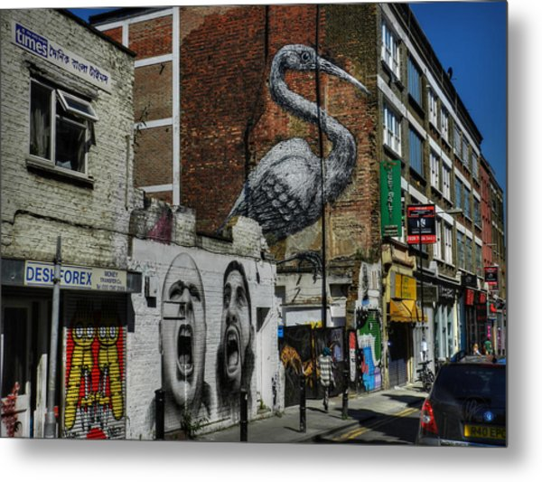 London 127 Metal Print by Lance Vaughn