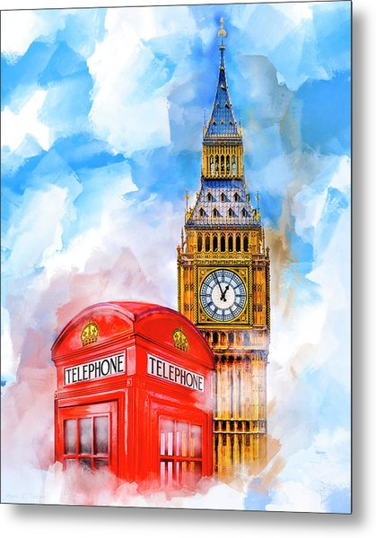 London Dreaming Metal Print