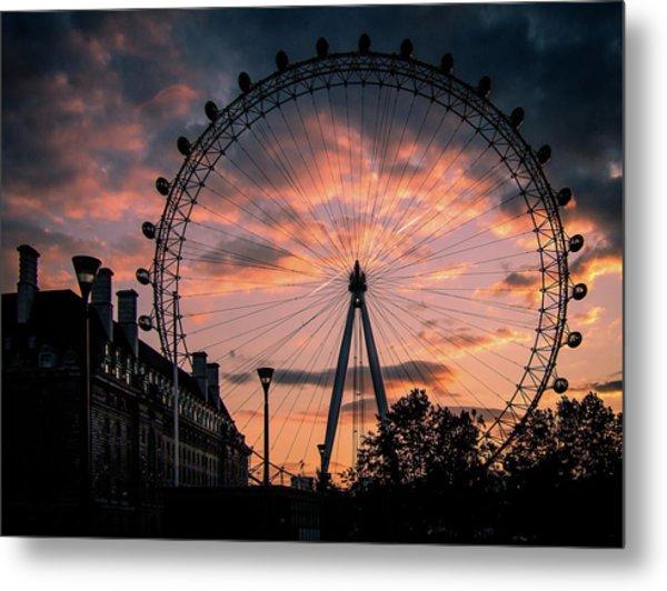 London Eye #1 Metal Print