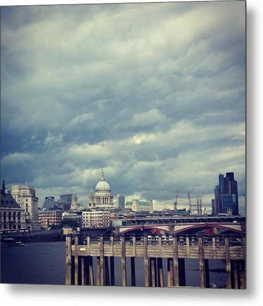 London I Love You.  #skyline #sky Metal Print