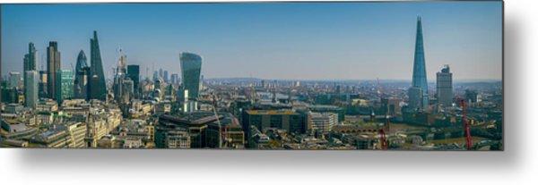 Metal Print featuring the photograph London Skyline by Stewart Marsden