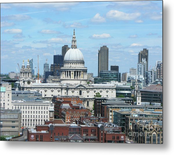 London Skyscrape - St. Paul's Metal Print