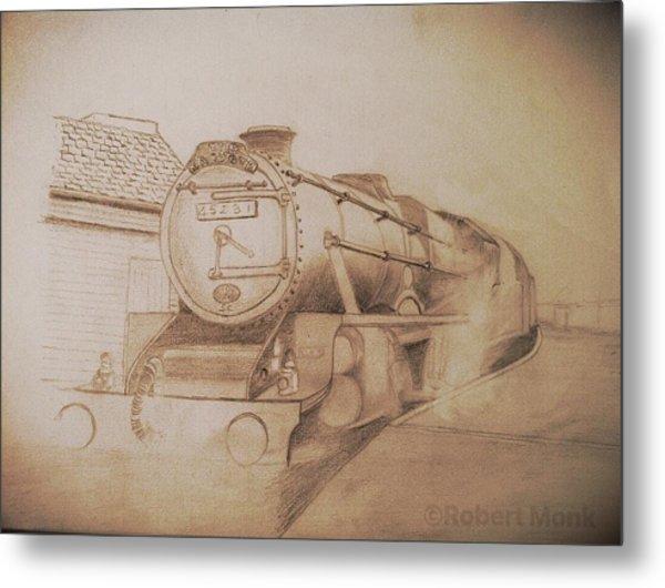 London Steam Locomotive  Metal Print