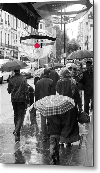 London Summer Metal Print by Jez C Self