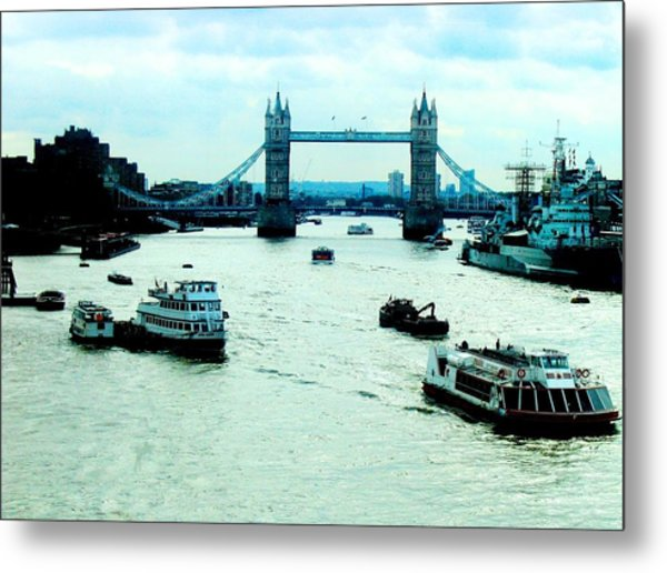 London Uk Metal Print