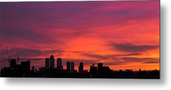London Wakes 2 Metal Print