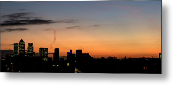 London Wakes 3 Metal Print