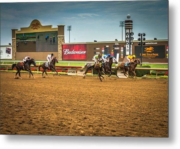 Lone Star Park Grand Prairie Texas Metal Print