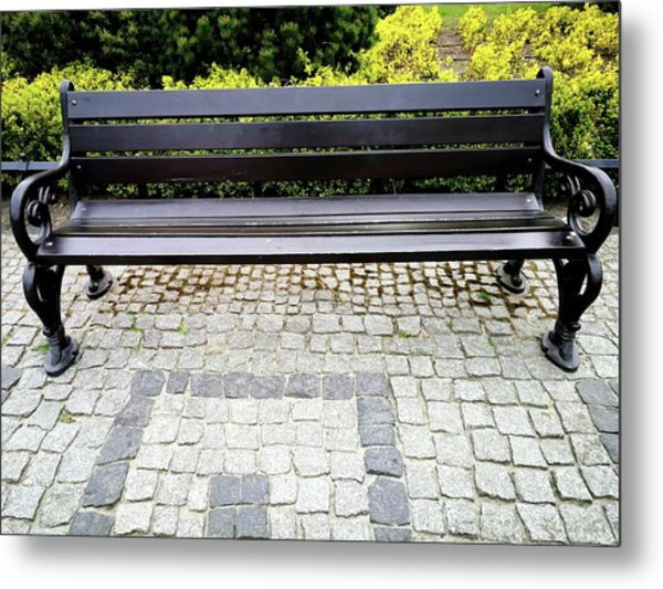 Lonely Bunch Metal Print