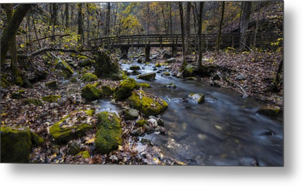 Lonesome Bridge Metal Print