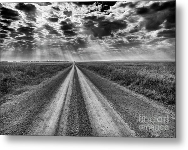Long And Lonely Metal Print