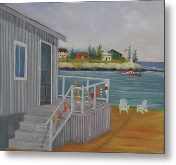 Long Cove View Metal Print