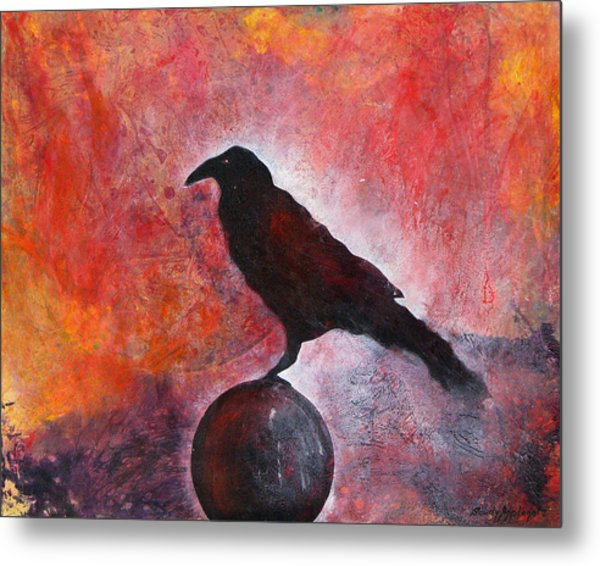 Long I Stood There Metal Print by Sandy Applegate
