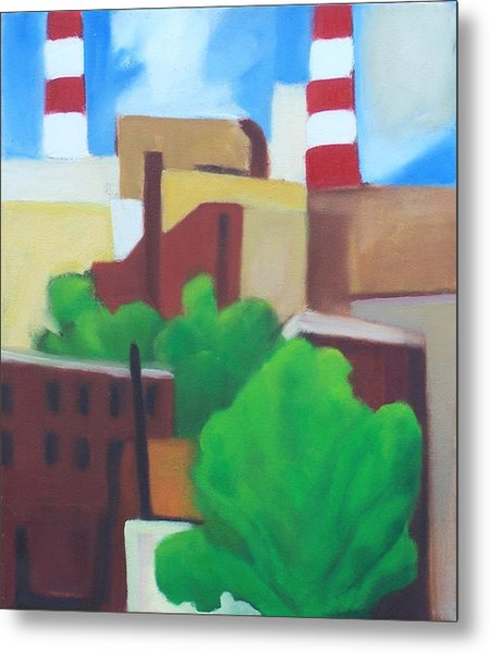 Long Island City View Metal Print