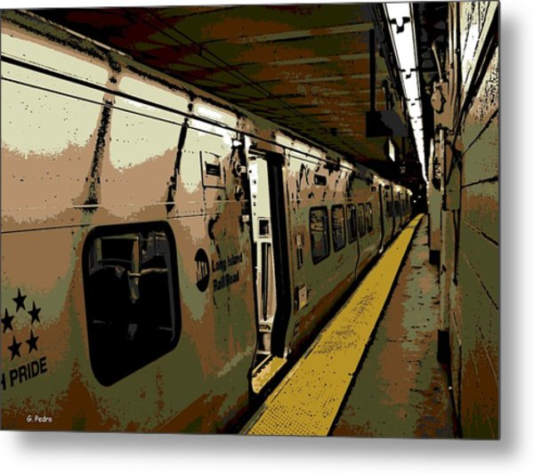 Long Island Railroad Metal Print