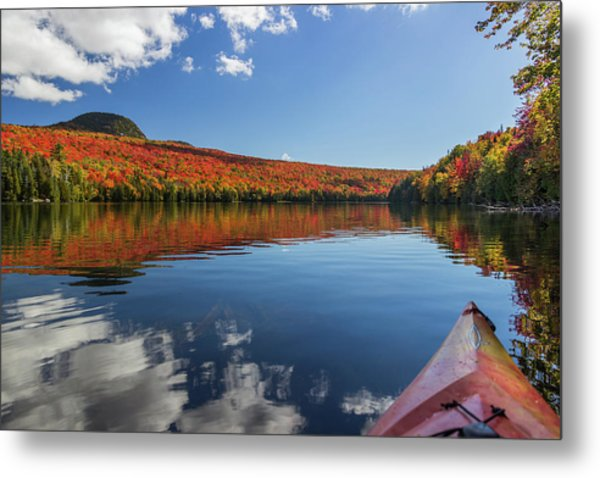 Long Pond From A Kayak Metal Print