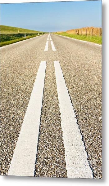 Long Road Metal Print by David Bleeker