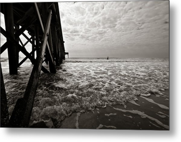Long To Surf Metal Print