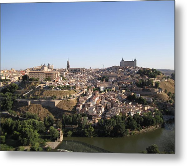 Looking At Toledo Metal Print