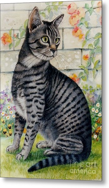 Looking For Mum Metal Print by Val Stokes