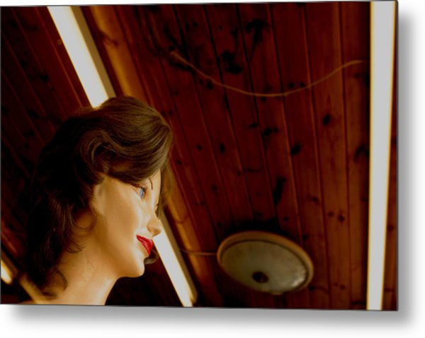 Looking Out As The Day Goes By Without Me Metal Print by Jez C Self