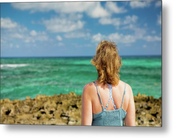 Metal Print featuring the photograph Looking Out by David Buhler