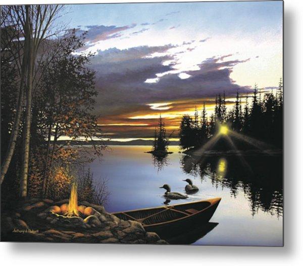 Loon Lake Metal Print