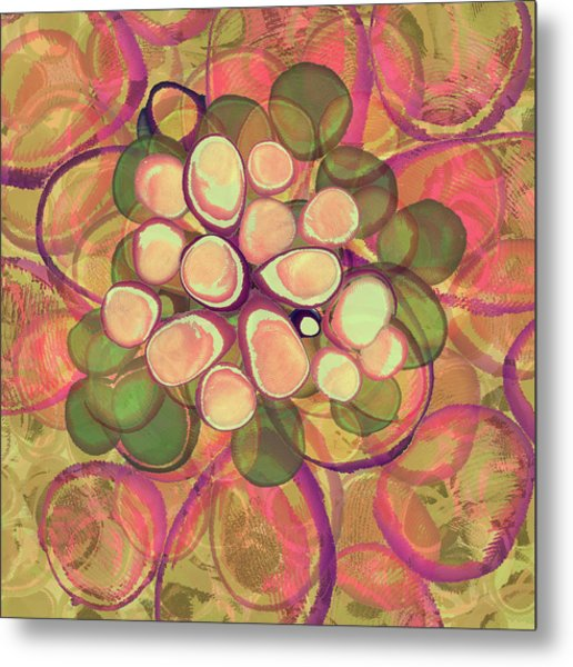 Loopy Dots #21 Metal Print