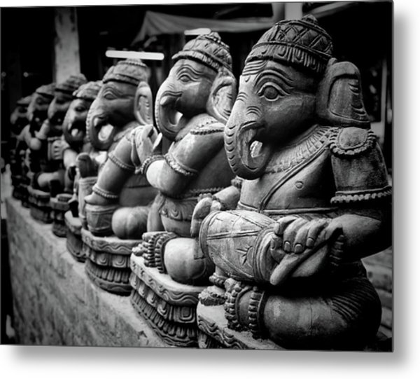 Lord Ganesha Metal Print