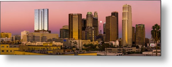 Los Angeles Moonrise 2014 Metal Print