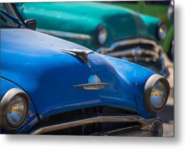 Metal Print featuring the photograph Los Autos by Rand