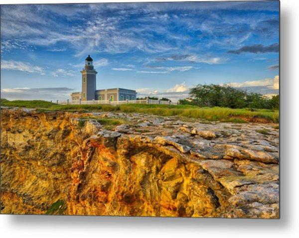 Los Morillos Lighthouse - Los Morillos - Cabo Rojo - Puerto Rico Metal Print