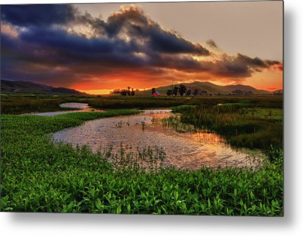 Los Osos Valley Metal Print