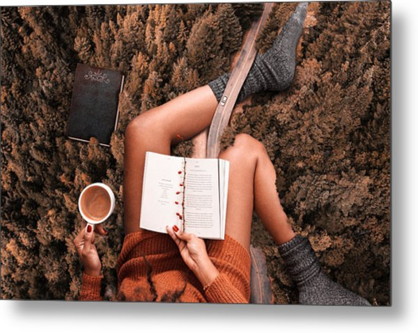 Lose Yourself In A Good Book Metal Print