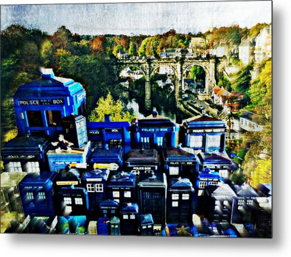 Lost City Of Time Metal Print