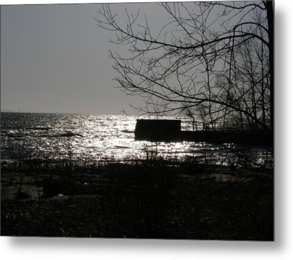 Lost For Words Metal Print by Dennis Burton