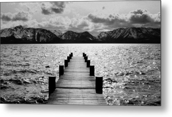 Lost In Lake Tahoe Metal Print