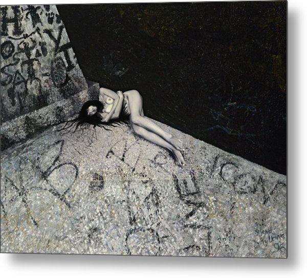 Lost In New York Metal Print