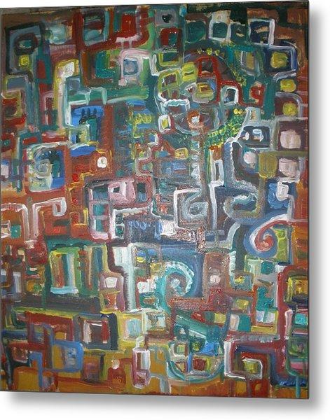 Lost In The Labyrinth Metal Print by Philip Arnzen-Jones