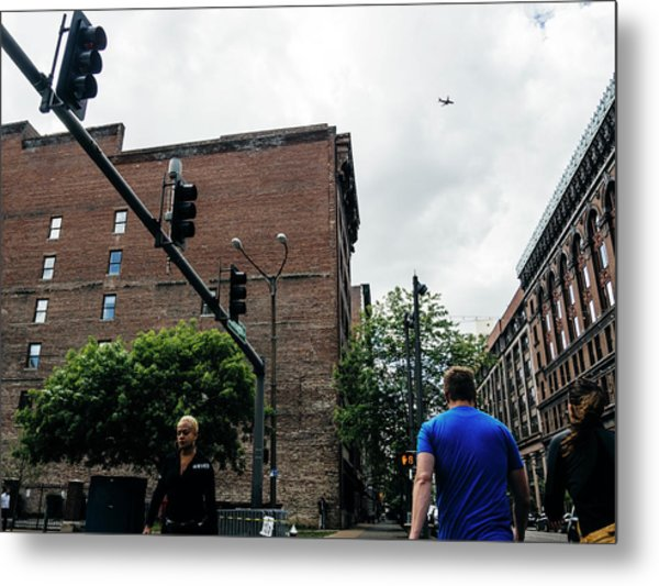 Lost In The Shuffle. St. Louis Street Photography Metal Print by Dylan Murphy
