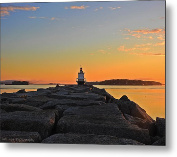 Lost In The Sunrise Metal Print