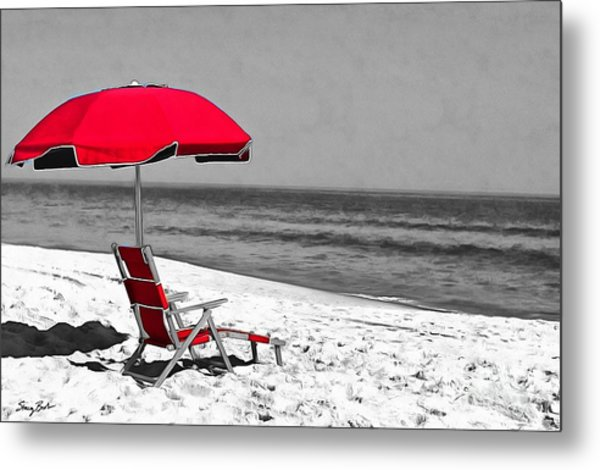 Lost In Thought Metal Print by Stacey Brooks