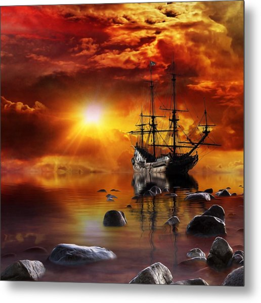 Lost In Time Metal Print